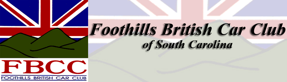 Foothills British Car Club